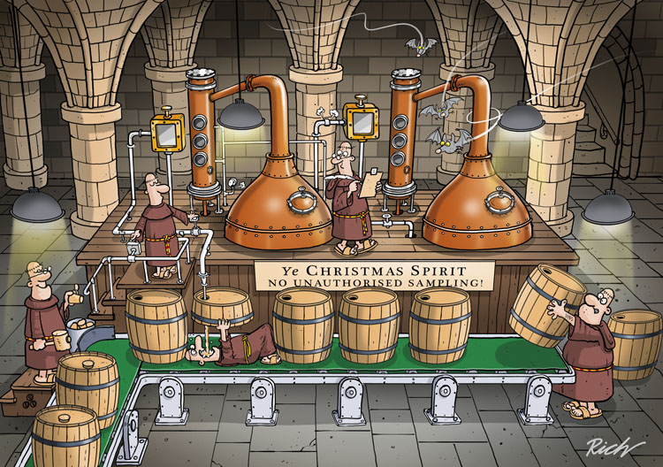 distilled monks